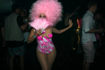 Candyfloss Costumes lend a home-made flair to nighttime festivities.