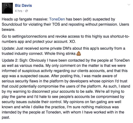 Biz Davis - Facebook