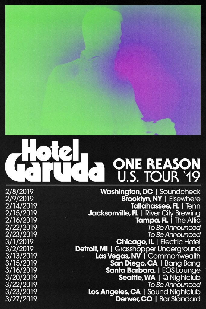 Hotel Garuda One Reason Tour