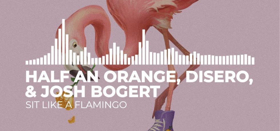 sit like a flamingo